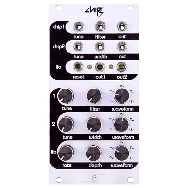 Cre8audio Chipz Dual VCO and LFO - Front