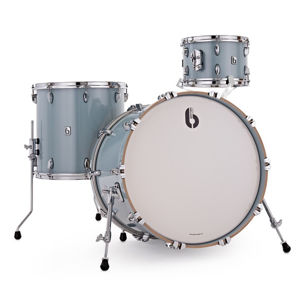 British Drum Co. Legend Series 22'' 3pc Shell Pack, Skye Blue