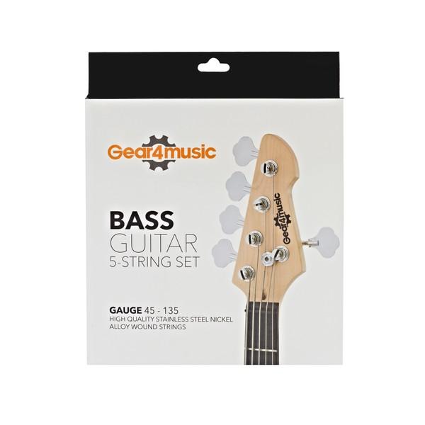 Bass Guitar 5-String Set by Gear4music