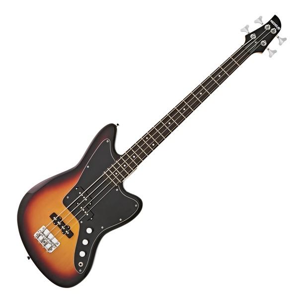 RedSub SF Bass Guitar, Tobacco Sunburst