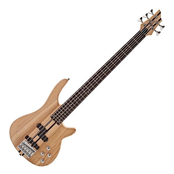 Chicago 5 String Neck Thru Bass Guitar, by Gear4music