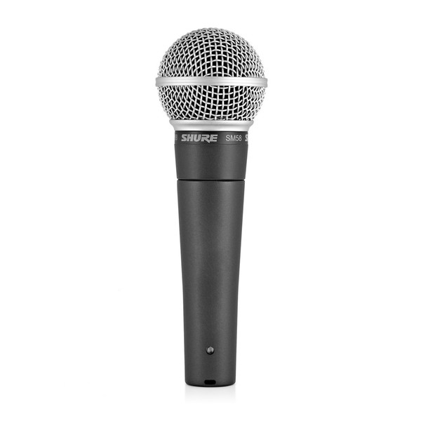 Shure SM58 Wireless Dynamic Microphone Bundle at Gear4music