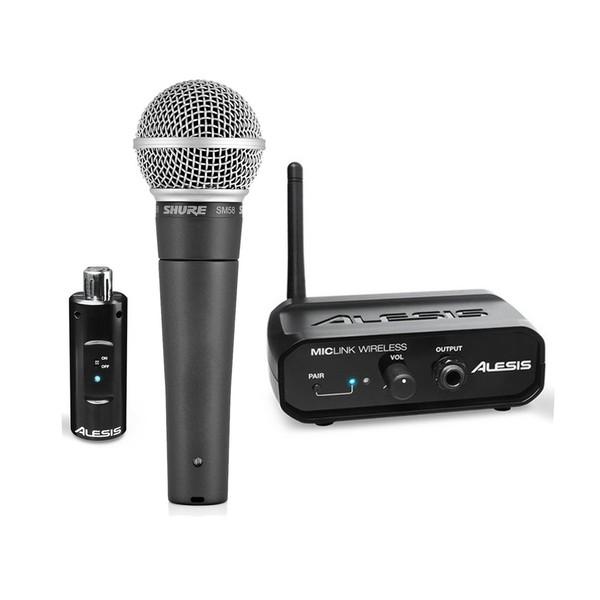 Shure SM58 Wireless Dynamic Microphone Bundle