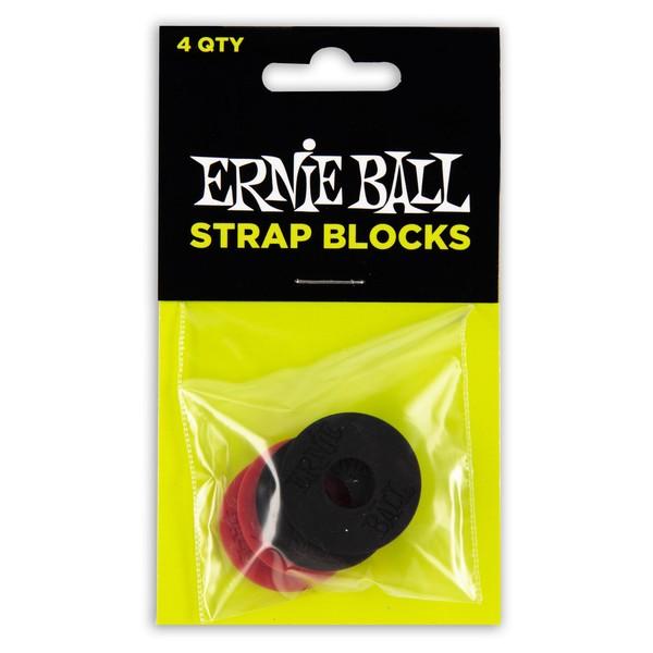 Ernie Ball Strap Blocks, Pack Of 4