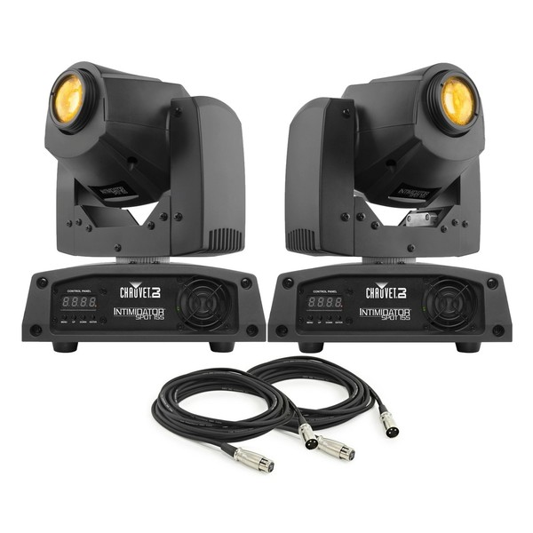 Chauvet DJ Intimidator Spot 155, Pair With Free Cables