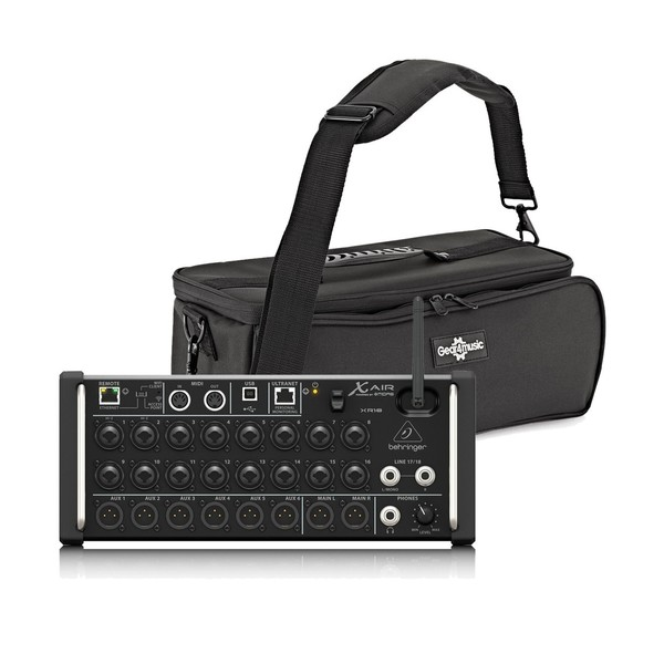 Behringer X AIR XR18 18-Channel Digital Mixer with Padded Bag