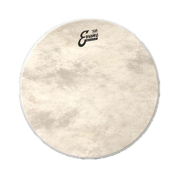 """Evans 56 Calftone 18"""" Bass Drum Head"""