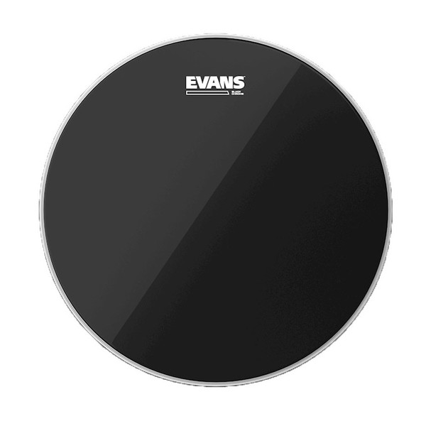 Evans Black Chrome Drum Head, 12''