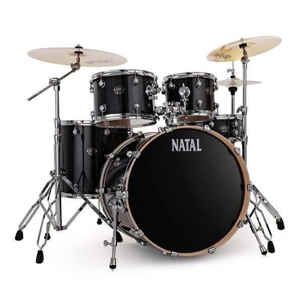 "Natal Arcadia Poplar 22"" Drum Kit w/Hardware & Paiste Cymbals - main image"