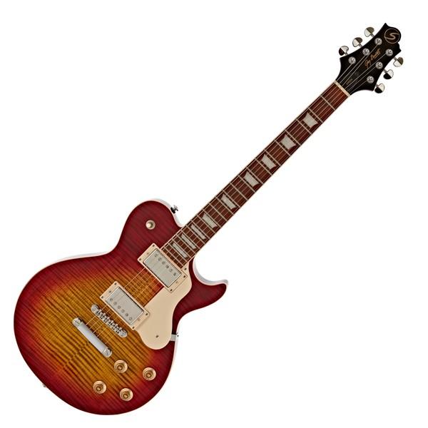 Greg Bennett Avion AV-3 Electric Guitar, Cherry Sunburst