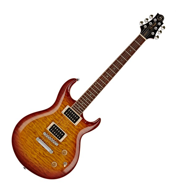 Greg Bennett Ultramatic UM-3 Electric Guitar, Orange Sunburst