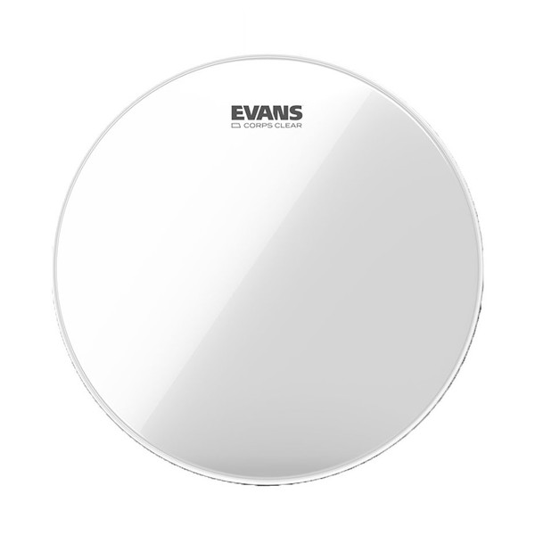 "Evans Corps Clear Marching Tenor 6"" Drum Head"