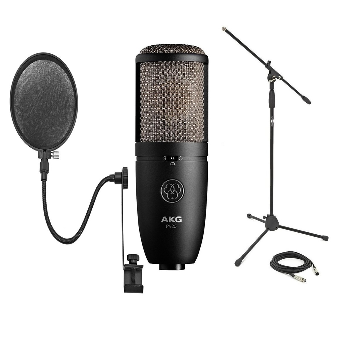 AKG Perception P420 Mikrofon med Stort Membran | Gear4music