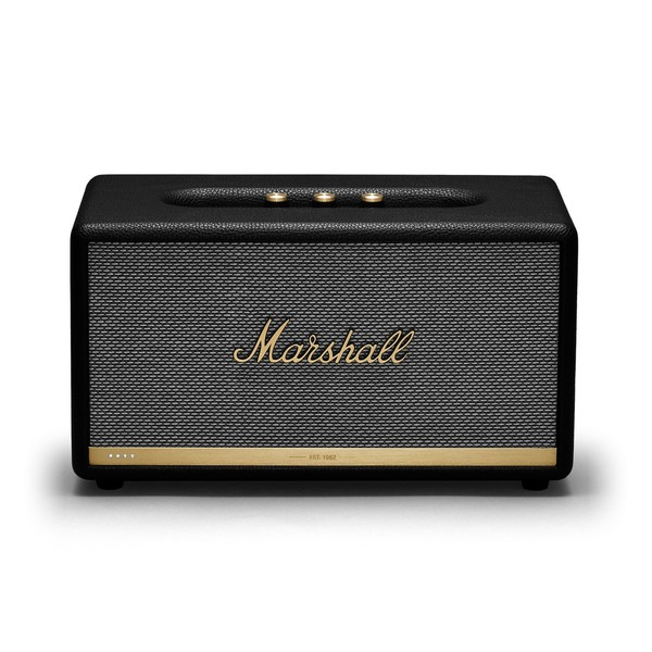 Marshall Stanmore II Voice Speaker w/ Google Assistant, Black