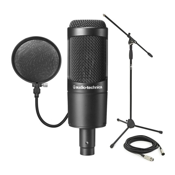 Audio Technica AT2035 Condenser Mic Bundle