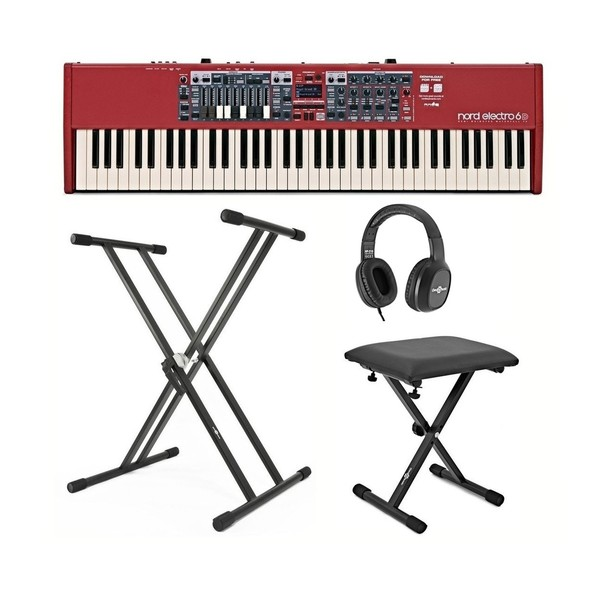 Nord Electro 6D 73-Note Keyboard with Accessories