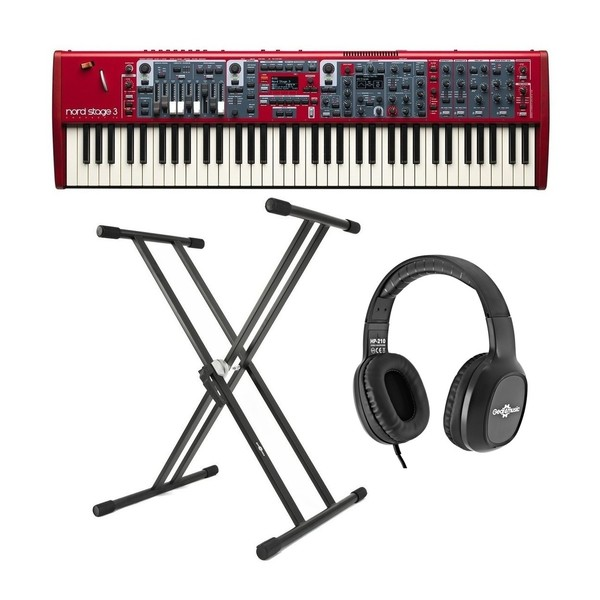 Nord Stage 3 Compact Digital Piano With Stand & Headphones