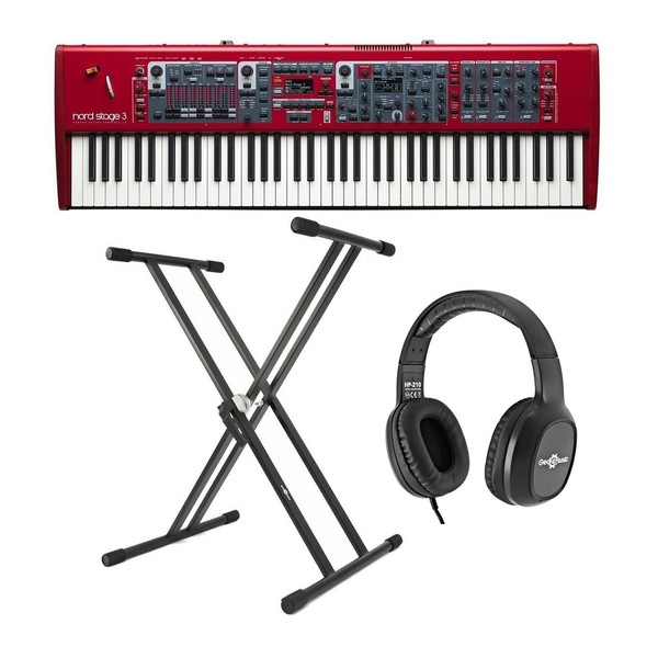 Nord Stage 3 HP76 Digital Piano With Stand & Headphones