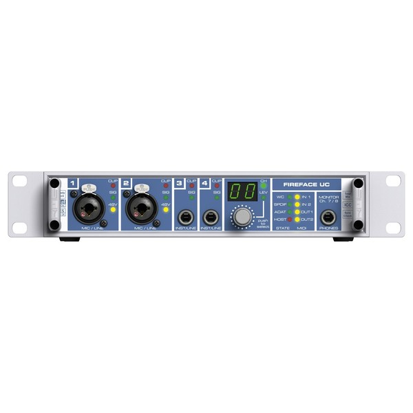 RME Fireface UC USB 2.0 Compact Audio Interface - Front