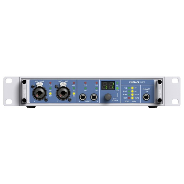 RME Fireface UCX USB/Firewire and iPad Audio Interface - Front