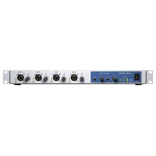 RME Fireface 802 60-Channel 192 kHz USB/FireWire Audio Interface - Main