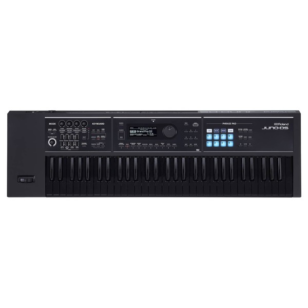 Roland Juno-DS61 61 Key Portable Synthesizer, Black Keyboard Edition - Top