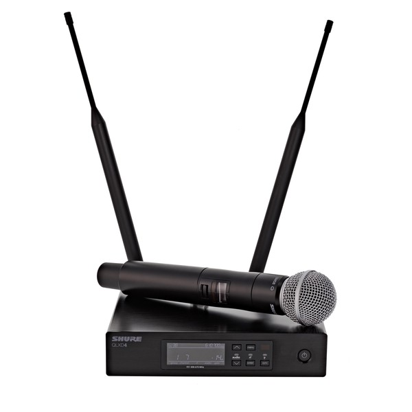 Shure QLXD24UK/SM58-K51 Handheld Wireless Microphone System