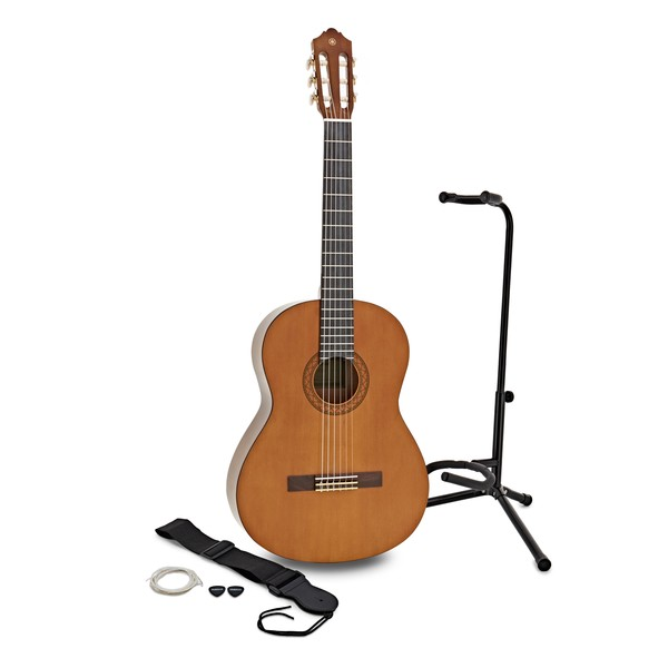 Yamaha C40 Classical Guitar w/ Accessory Pack & Stand