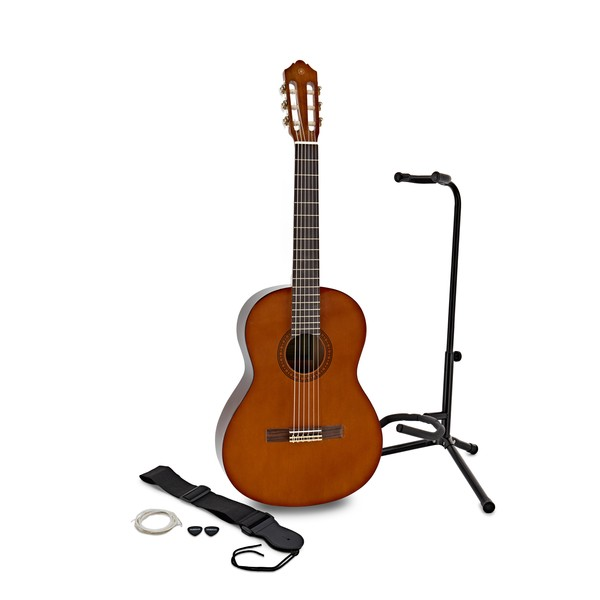 Yamaha CS40 3/4 Classical Guitar w/ Accessory Pack & Stand