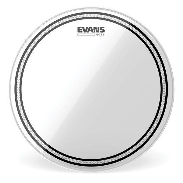 Evans EC2 Edge Control SST Clear Drum Head, 8''