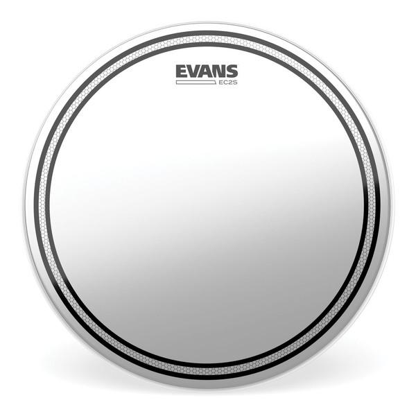 Evans EC2 Edge Control SST Coated Drum Head, 13''