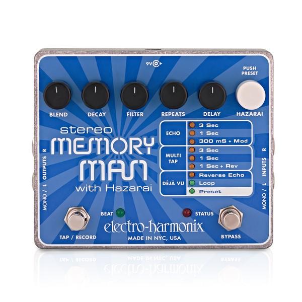 Electro Harmonix Stereo Memory Man w/ Hazarai Delay & Looper main