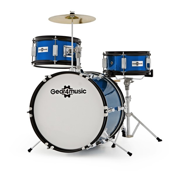 Junior 3 Piece Drum Kit by Gear4music, Main Image