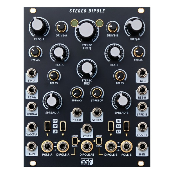 Steady State Fate Stereo Dipole (Black/Gold)
