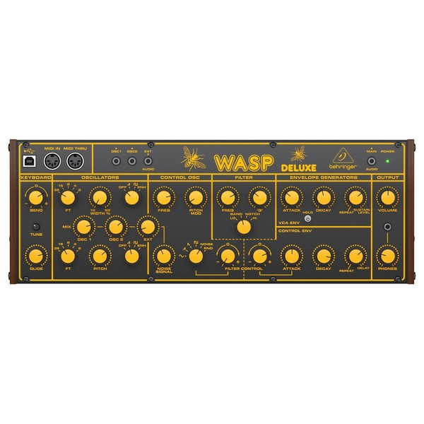 Behringer WASP Deluxe Analog Synthesizer - Main