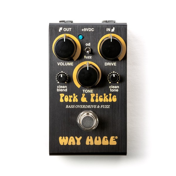 Way Huge Smalls Pork & Pickle Bass Overdrive & Fuzz - front