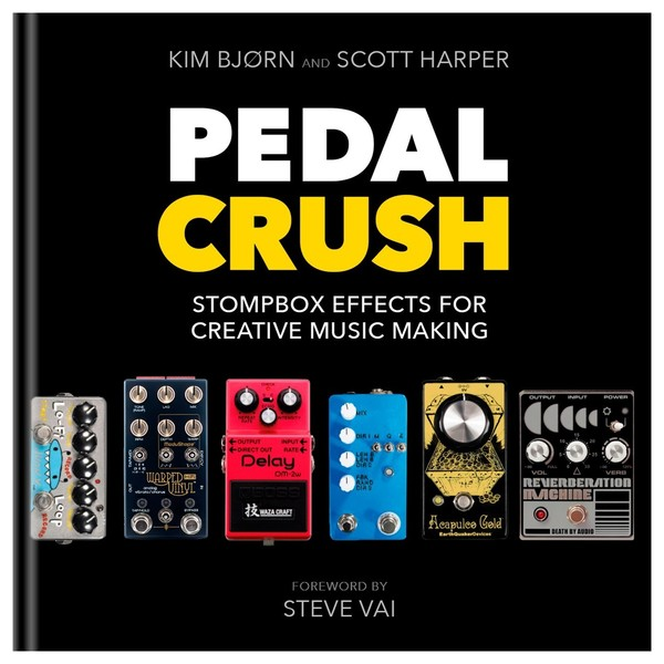 Pedal Crush - Stompbox Effects for Creatives - Front