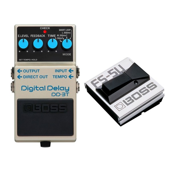 Boss DD-3T Digital Delay Pedal with Tap Tempo Footswitch - Main