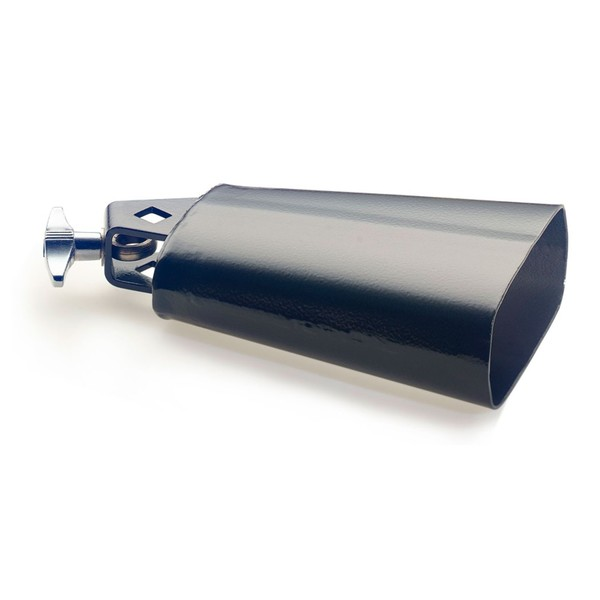 """Stagg Rock 5-1/2"""" Cowbell, Black"""