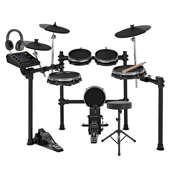 WHD 650-DX Mesh Electronic Drum Kit Package Deal