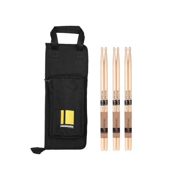 Promark Stick Bag and Drumsticks Bundle