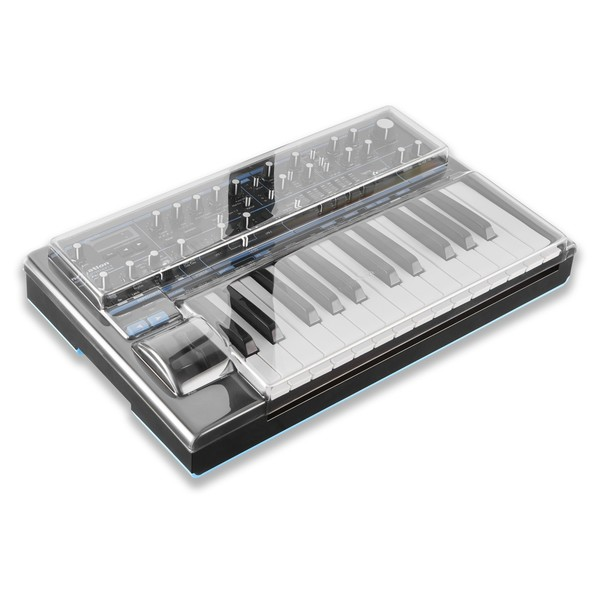 Decksaver Novation Bass Station II Cover - Angled