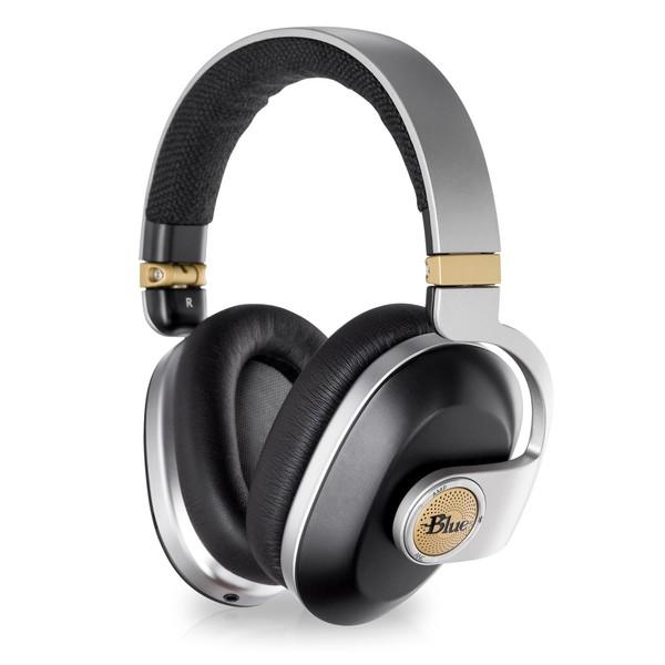 Blue Satellite Black Noise Cancelling Headphones