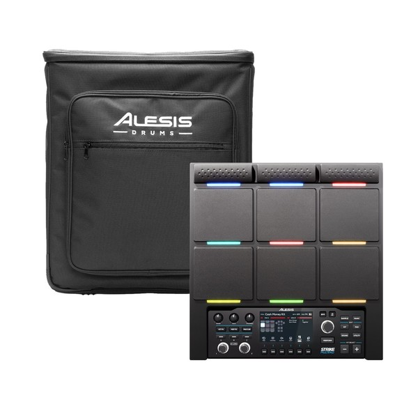 Alesis Strike MultiPad with Alesis SMP Backpack