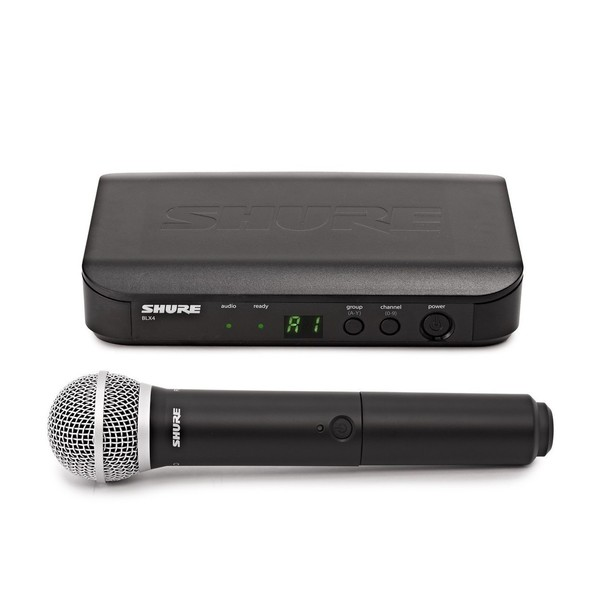 Shure BLX24E/PG58-S8 Handheld Wireless Microphone System