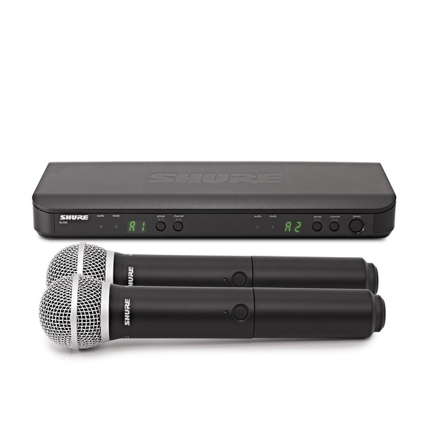 Shure BLX288E/PG58-S8 Dual Handheld Wireless Microphone System