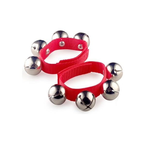 Stagg Large Wrist Bells, Red