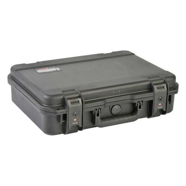 SKB iSeries 1813-5 Waterproof Laptop Case, Closed Angled Right