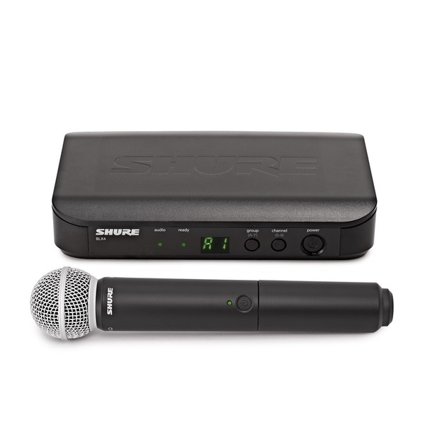 Shure BLX24E/SM58-T11 Handheld Wireless Microphone System