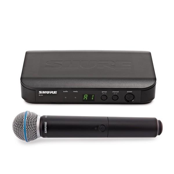 Shure BLX24E/B58-T11 Handheld Wireless Microphone System